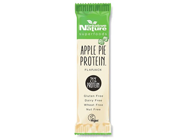 Creative Nature  Apple Pie High Protein Cold Pressed Snack Bar