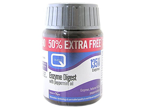 Quest  Enzyme Digest Tablets - 50% Extra Free