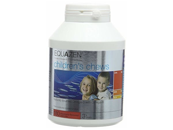 Equazen Childrens Strawberry Chewable Capsules