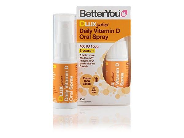 Better You  Dlux Junior Vitamin D Oral Spray
