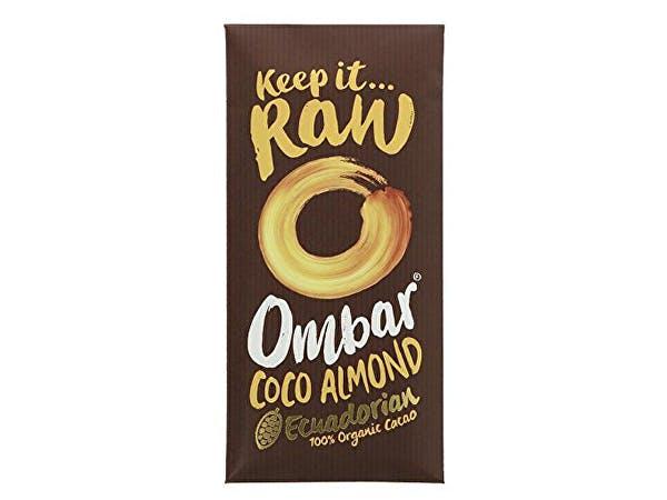 Ombar  Coco Almond Raw Chocolate Bar