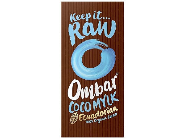 Ombar  Coco Mylk Raw Chocolate Bar