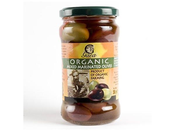 Gaea  Organic Mixed Marinated Olives