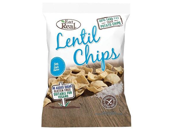 Eat Real  Sea Salt Lentil Chips