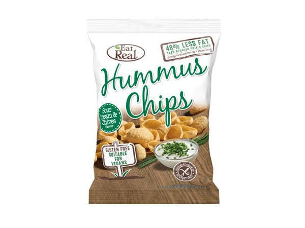 Eat Real  Sour Cream Hummus Chips