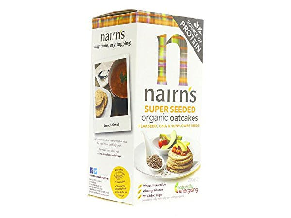Nairns  Gluten Free Super Seeded Oatcake