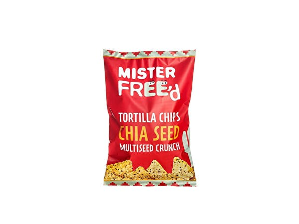 Mister Free'd  Tortilla Chips With Chia Seed