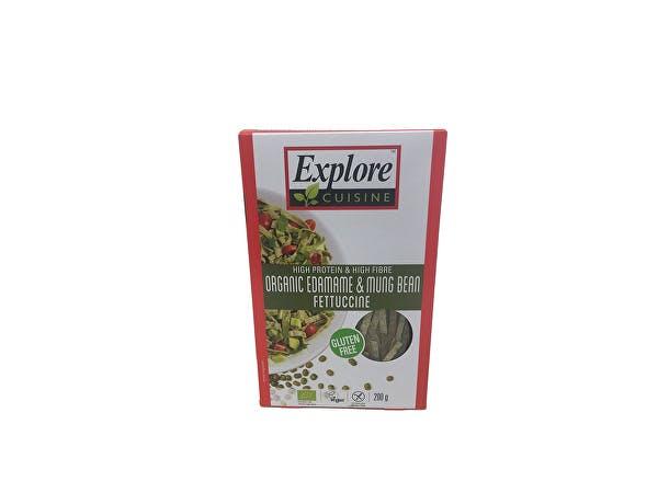 Explore Cuisine  Edamame & Mung Bean Fettuccine