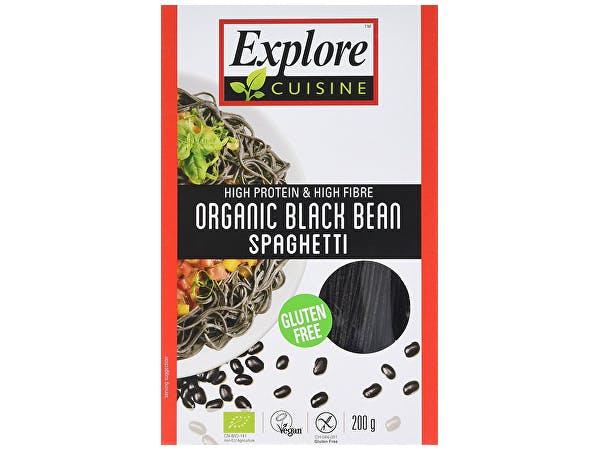 Explore Cuisine  Black Bean Spaghetti