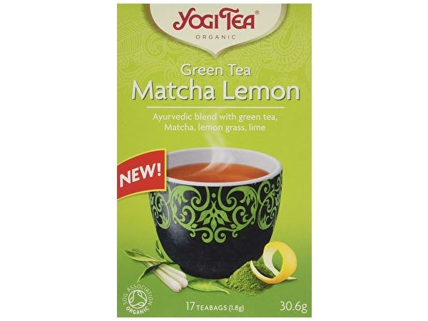 Green Tea Matcha Lemon - Organic Tea