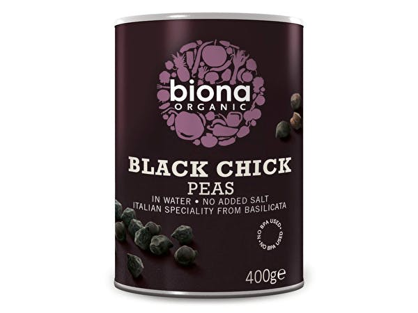 Organic Black Chick Peas - No Bpa In Can