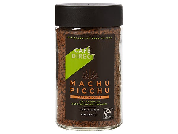 Cafe Direct  Machu Picchu Fairtrade Instant Coffee