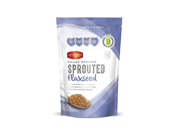 Sprouted Milled Organic Flaxseed