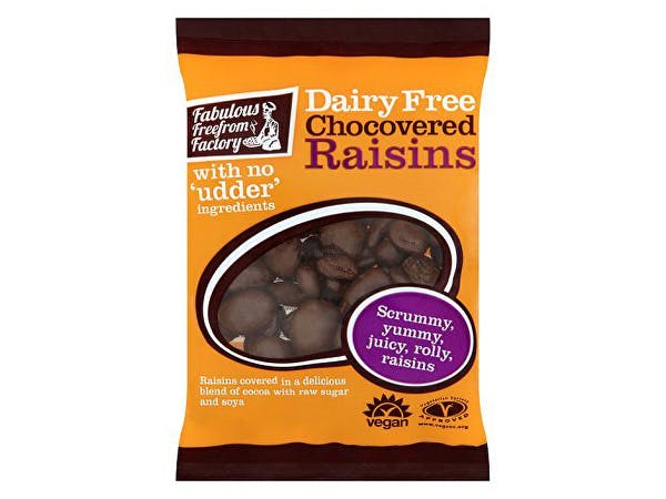 Fabulous Free/F  Df Chocolate Covered Raisins
