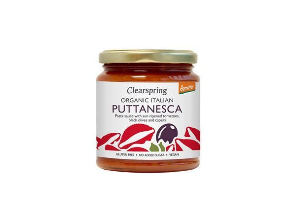 Clearspring  Demeter Italian Puttanesca Pasta Sauce