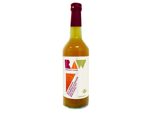 Raw/H  Raw Apple Cider Vinegar Blend - Turmeric & Ginger