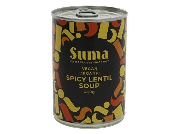 Organic Spicy Lentil Soup