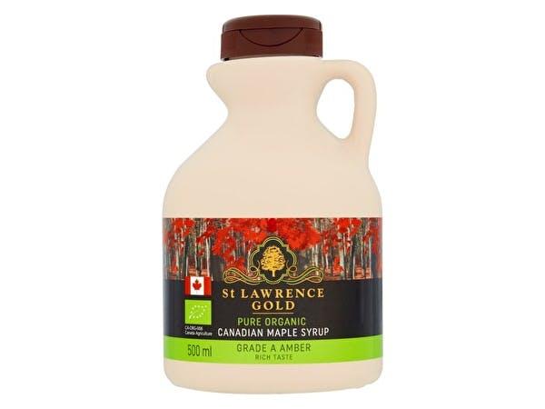 Organic Amber Maple Syrup