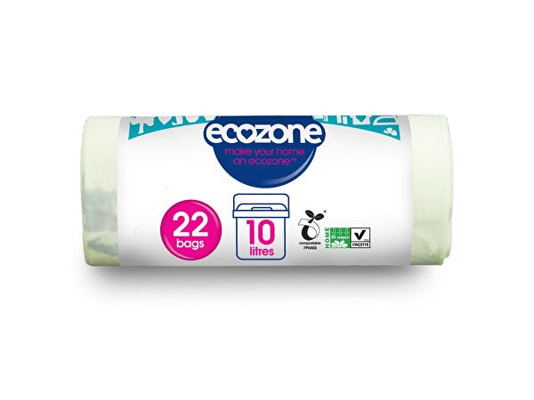 Ecozone  Compostable 10Ltr Caddy Liners