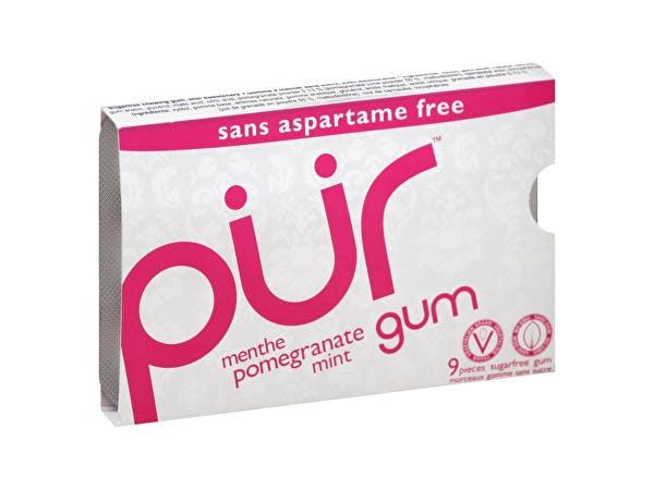 Pur  Pomegranate Mint Gum - Blister