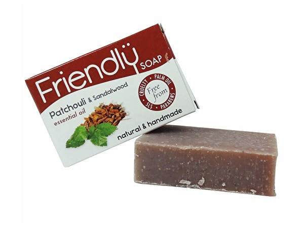Natural Patchouli & Sandalwood Soap