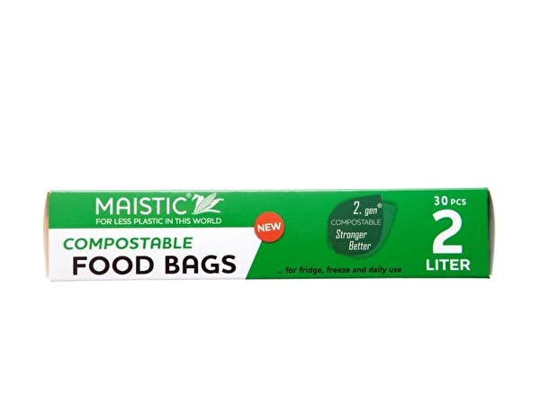 2.Gen Compostable Food Bag 2Ltr
