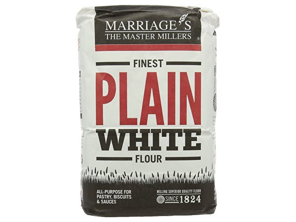 Marriages  Finest Plain White Flour