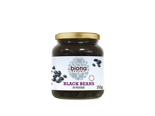 Black Beans Organic - Glass Jar