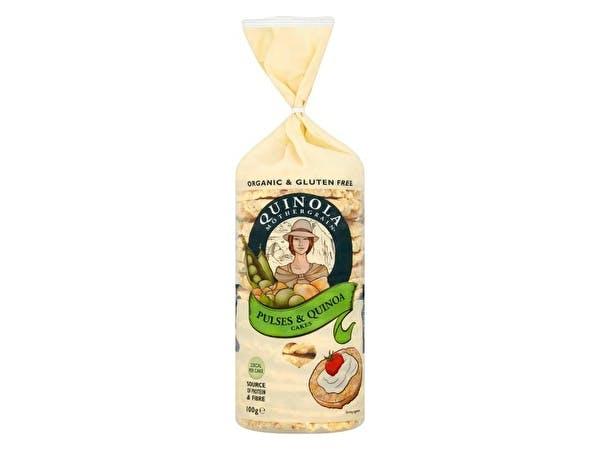 Organic Pulses & Quinoa Cakes