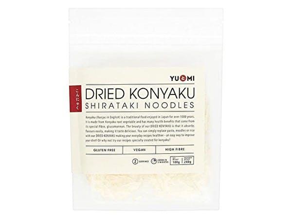 Dried Konyaku Shirataki Noodles
