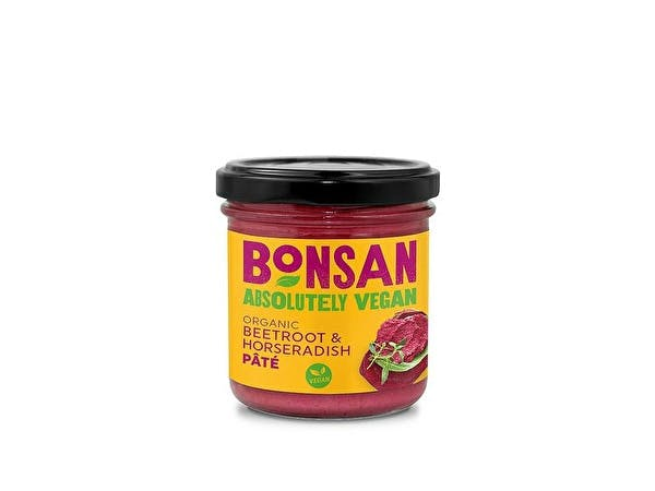 Organic Vegan Beetroot Horseradish Pate