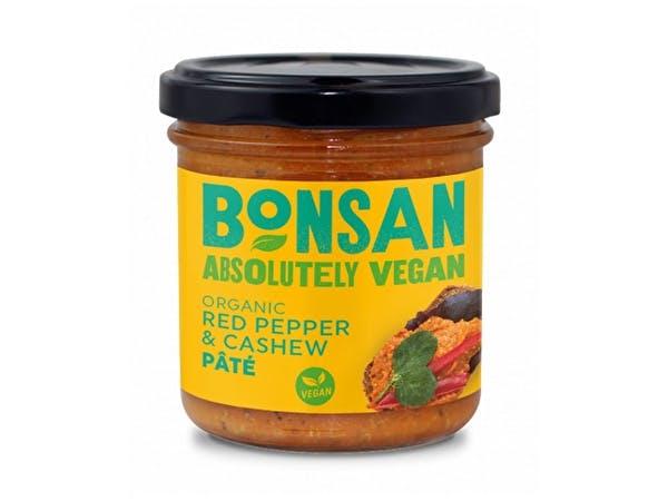 Organic Vegan Cashew Bell Pepper Pate