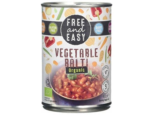 Organic Vegetable Balti