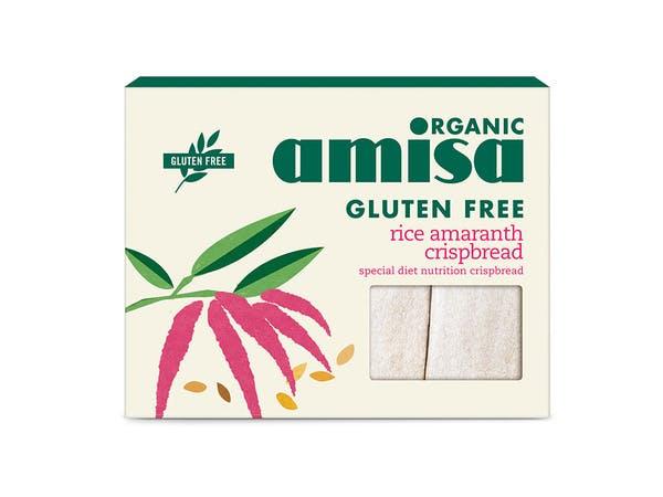 Amaranth Rice Crispbread - Gluten Free
