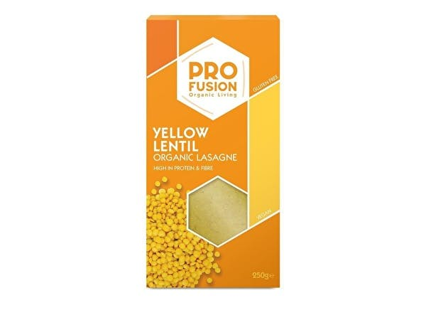 Organic Yellow Lentil Lasagne Sheet