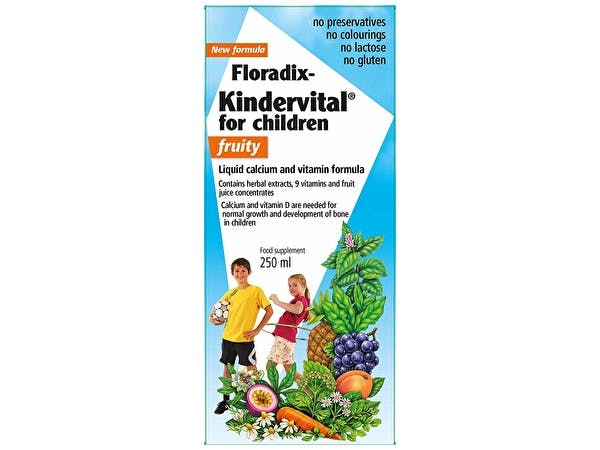 Floradix Kindervital - Childrens Fruity Formula
