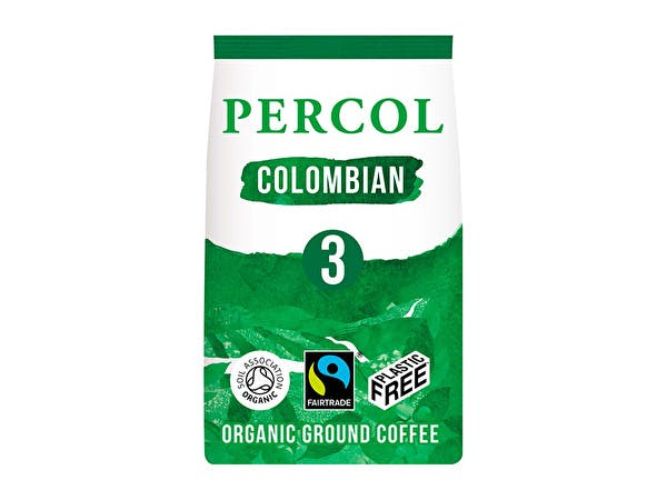 Smooth Colombian Ground Coffee - Plastic Free