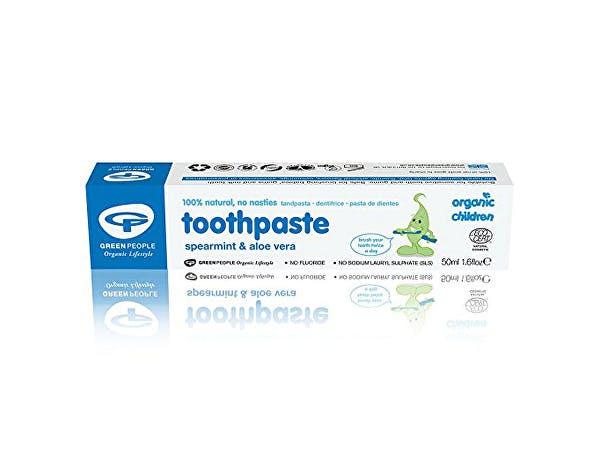 Green People  Childs Spearmint Aloe Vera Toothpaste