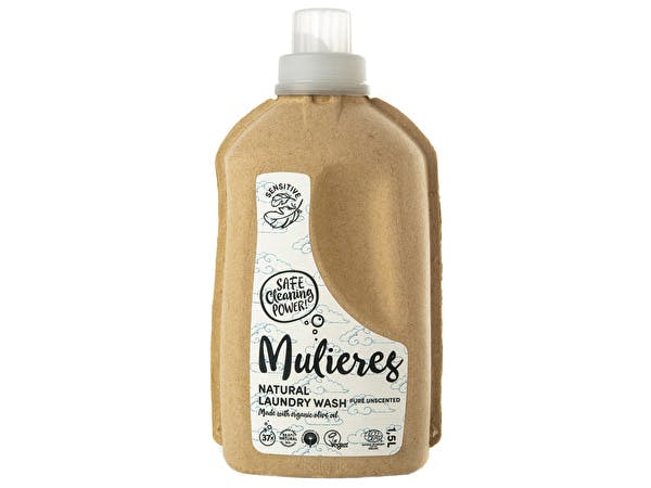 Natural Organic Laundry Liquid - Pure Unscented