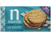Coconut & Chia Oat Biscuit