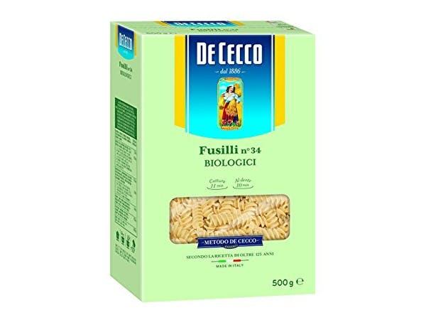 Premium Organic Fusilli Pasta