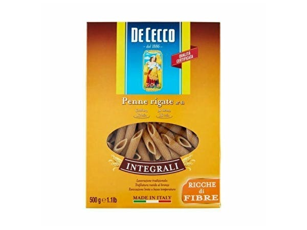 Organic Wholewheat Penne Rigate