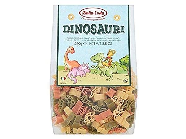 Dinosaur Tricolour Pasta