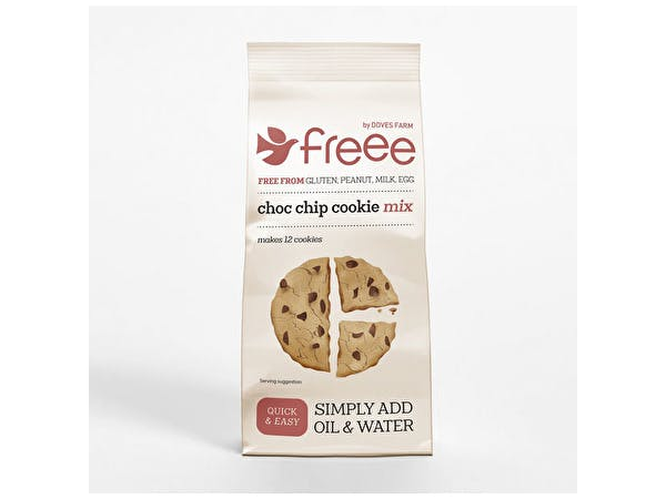 Freee Gluten Free Chocolate Chip Cookie Mix
