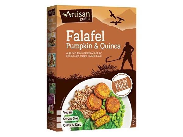 Pumpkin & Quinoa Falafel