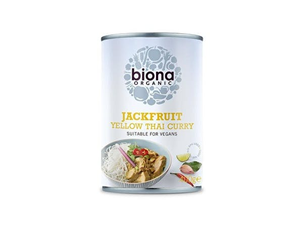 Organic Yellow Thai Curry Jackfruit In Can