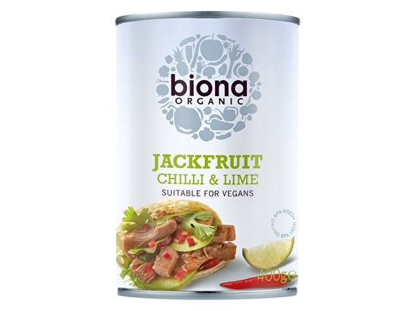 Organic Chilli Lime Jackfruit In Can