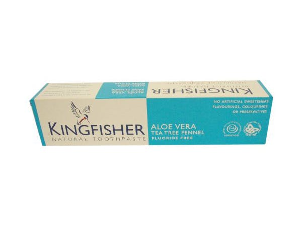 Kingfisher  Aloe Tea Tree & Fennel Fluoride Free Toothpaste